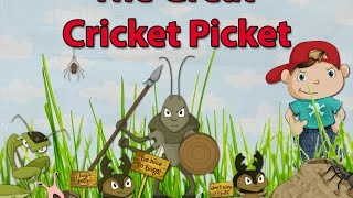 The Great Cricket Picket Children's Book by Nathan Tafoya