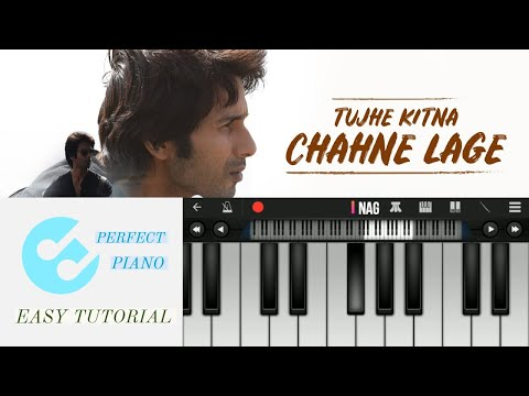 tujhe-kitna-chahne-lage-hum  arijit-singh  kabir-singh  easy-perfect-piano-tutorial  instrumental