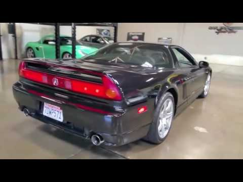 2005 Acura NSX For Sale In Rare Berlina Black, Sport Cars Video, Sport Cars  2016