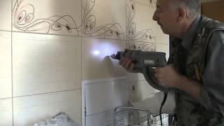 видео как сверлить кафель