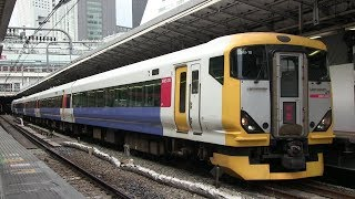 JR中央本線 新宿駅 E257系(富士回遊)
