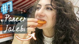 50 x INDIAN FOOD FOREIGNER REACTION by PANEER PRINCESS | TRAVEL VLOG IV