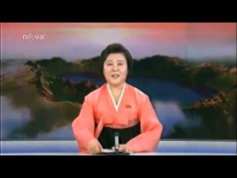 severokorejská moderátorka