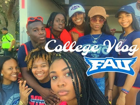 New Semester, New Friends, & Nupes After Dark? | FAU COLLEGE VLOG