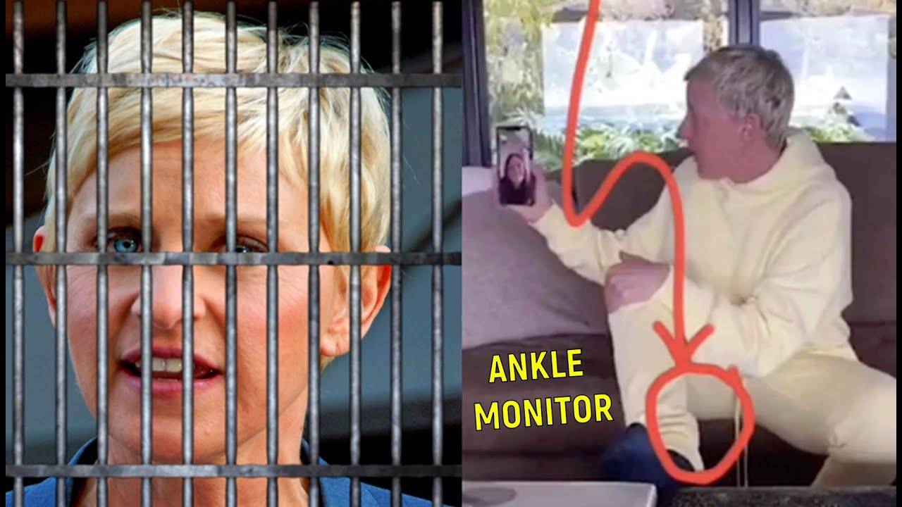 Ellen ARRESTED!? (Ankle Monitor)