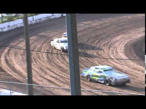 Street Stock Heat 1 Seymour Speedway 8/16/15