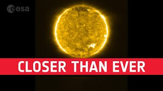 Closer than ever: Solar Orbiter's first views of the Sun