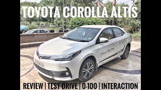 Toyota Corolla Altis | 2017 Corolla Altis | Toyota Corolla Altis Features | Corolla Altis Review