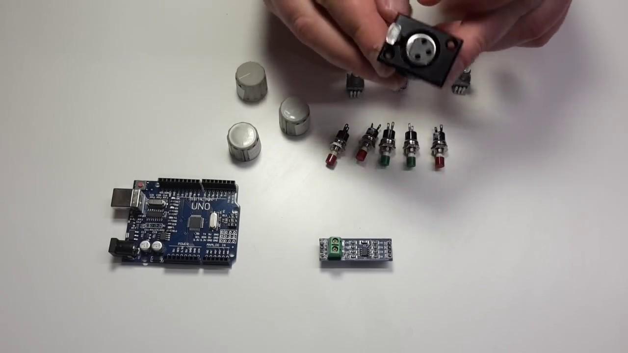 Arduino DMX Controller - Teil 01