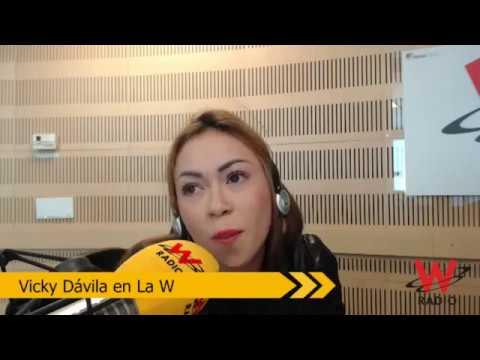 Epa Colombia  con Vicky Dávila en La W Daneidy Barrera Rojas