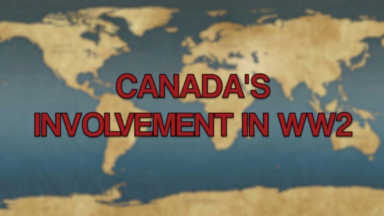 Canada's Involvement In WW2 - YouTube