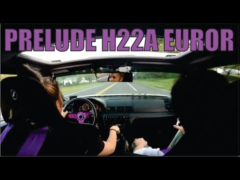 HONDA PRELUDE H22A EUROR DRIVE