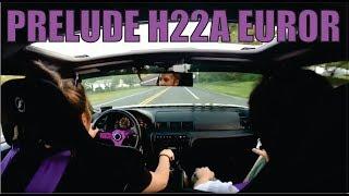 Honda Prelude EuroR Drive