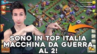 SONO in TOP ITALIA! MACCHINA da GUERRA al 2! 3350 COPPE! | Nuovo Villaggio Clash of Clans ITA