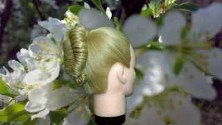 Прически на длинные волосы.