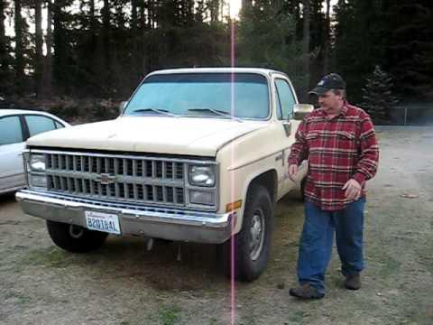 Cold Start 1983 Diesel Chevy 6 2