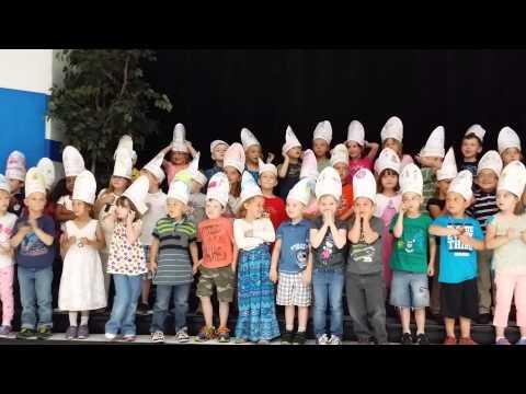 Joshua and the kindergarten production closer