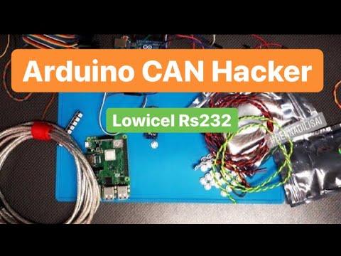 Arduino CanHacker Lowicel (дружим Ардуино с программой CanHacker)