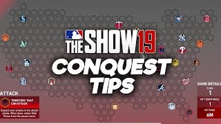 MLB The Show 19 Conquest Tips amp Tutorial How to Beat Conquest