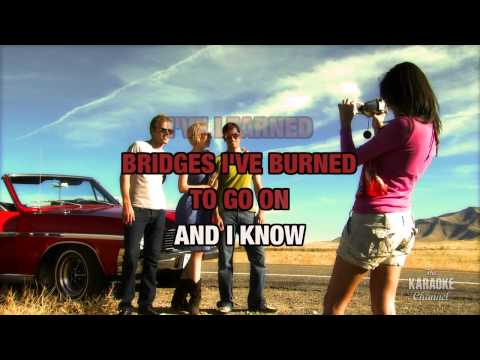 The Next Step in the style of Jim Collins | Karaoke with Lyrics