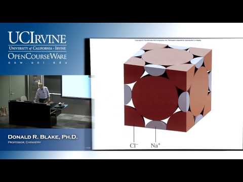 General Chemistry 1b Lecture Intermolecular Forces Liquids Solids Part Iv