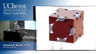 General Chemistry 1B. Lecture 4. Intermolecular Forces Liquids & Solids, Part IV