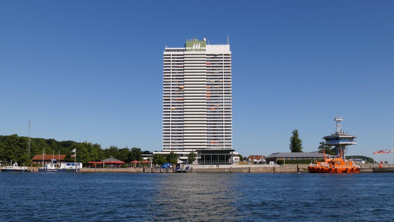 travem nde trave hotel maritim 119m lotsenturm pilot tower 4k video picture youtube. Black Bedroom Furniture Sets. Home Design Ideas