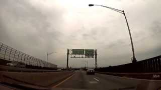 Jersey City, New Jersey - A drive across the Pulaski Skyway HD (2013)