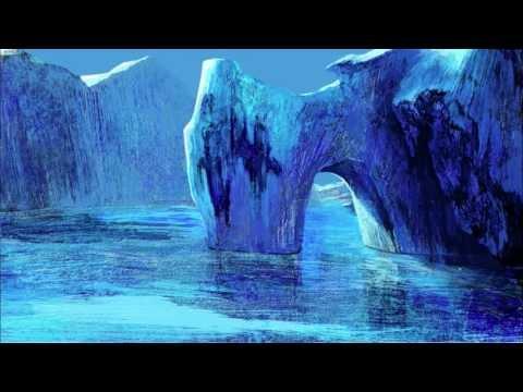 Glacier – Landscape, Photoshop speed painting