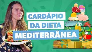 Como fazer a DIETA MEDITERRÂNEA