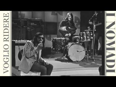 i Nomadi - Voglio ridere 1973 HD