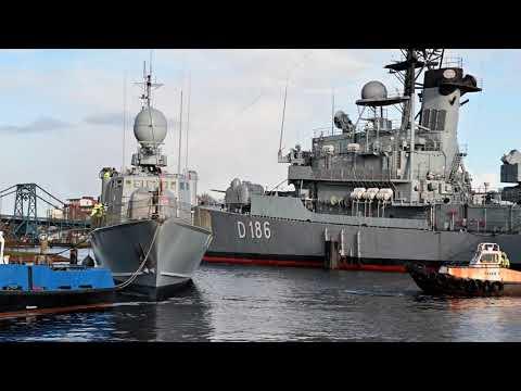 Verlegung S71 Gepard ins Marinearsenal Wilhelmshaven
