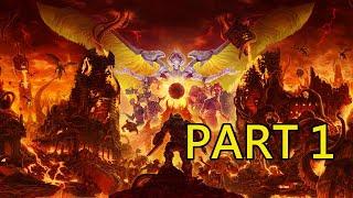 《毀滅戰士:永恆》劇情戰役 Part 1:人間地獄(英文語音 中文字幕)