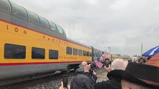 President Bush's Funeral Train