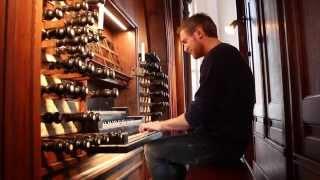 Matthias Havinga plays J.S.Bach Fugue in A-minor BWV 543