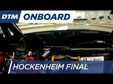 DTM Hockenheim Final 2016 - Edoardo Mortara (Audi RS5 DTM) - Re-Live Onboard (Race 1)