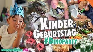 Kindergeburtstag  🎉 | Dinoparty  🐲 | Tipps - Rezepte - DIYs | mamiblock