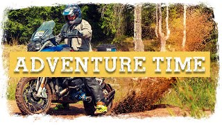 Day 2 - BMW R1250GS True OFF ROAD Adventure Motorcycle Tour in Romania