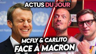 Macron face à McFly et Carlito expliqué, festivals assis et masqués, PPDA accusé… Actus du jour