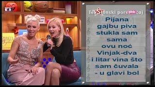 TekStonski poremecaj - Jelena Rozga - Nirvana (Ami G Show S09)