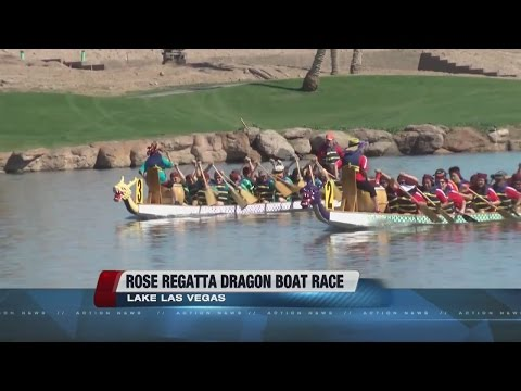 Rose Regatta Dragon Boat Races at Lake Las Vegas