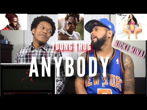 Young Thug - Anybody (ft. Nicki Minaj) [Official Sign Video] | FVO Reaction
