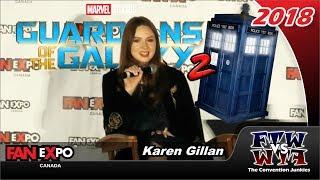 Karen Gillan (Doctor Who, Guardians, Avengers) Fan Expo Canada 2018