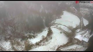 🚀 DRONE | Il Mugello innevato