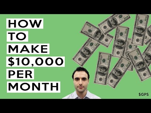 How To Make $10,000 Per Month From Home! Start With $0