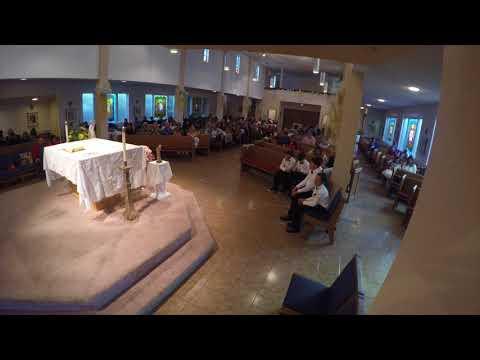 St. John the Baptist Church, El Cerrito CA, Missa de Primeira Comunhao