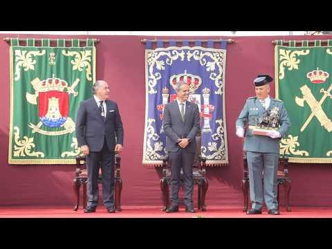 Celebración de los Actos oficiales del Día de La Guardia Civil