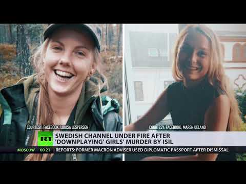 'Simple Downplay' or 'Don't Demonize Muslims'? Swedish TV under fire over coverage of girls' murder