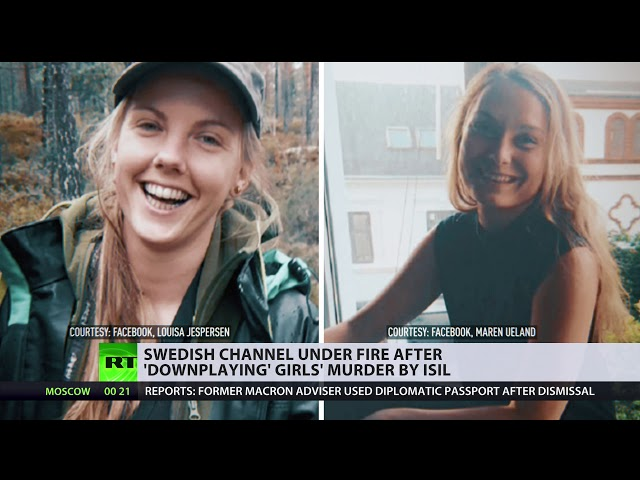 Outrage After Swedish Tv Downplays Gruesome Isis Beheadings