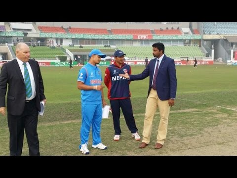 India VS Nepal U-19 Cricket World Cup Match Highlight